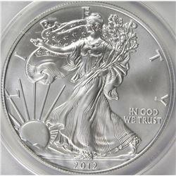 2012-S AMERICAN SILVER EAGLE
