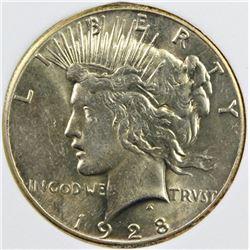 1928 PEACE SILVER DOLLAR