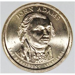 2007 JOHN ADAMS MINT ERROR DOLLAR