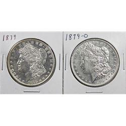 1879-O & 1879 MORGAN DOLLARS