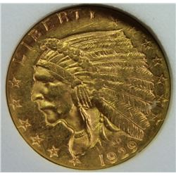 1929 $2.50 GOLD INDIAN