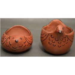 MARICOPA INDIAN POTTERY BIRDS (VESTA BREAD)