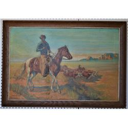 WESTERN PAINTING ( NANCY ROSE JELLICO)