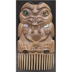 TLINGIT INDIAN HAIR COMB