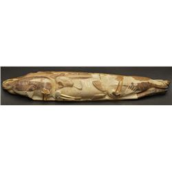 TLINGIT INDIAN IVORY CARVING