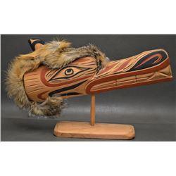 HAIDA INDIAN WOOD CARVING (STAN JOSEPH)