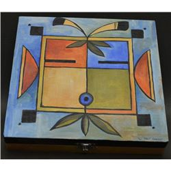 SOUTHWEST PAINTED BOX (PAT CAROLL)