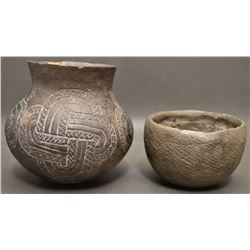 MOUND BUILDER POTTERY ITEMS