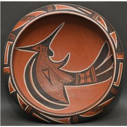HOPI INDIAN POTTERY BOWL (ZELLA CHEEDA)