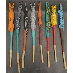 SAN JUAN INDIAN DANCE WANDS