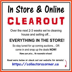 STOREWIDE CLEAROUT - LEARN MORE HERE!