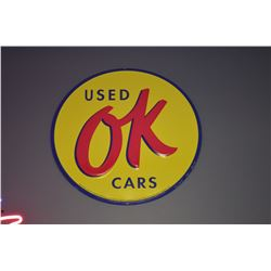 OK Used Cars Sign - SOLD!!!