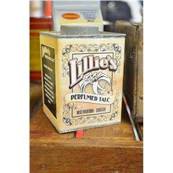 Vintage Talc Tin - SOLD!!!