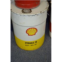 Shell Oil Pail - SOLD!!!