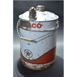 Texaco Oil Pail - SOLD!!!
