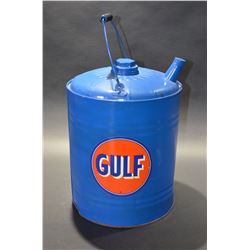 Gulf Oil Pail