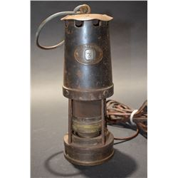 Vintage Miners Lamp (Electric)