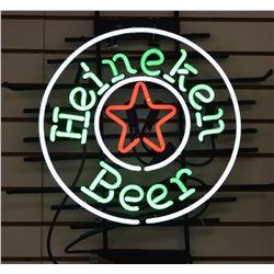 Neon - Vintage Heineken Beer Sign