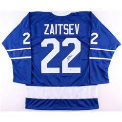 Nikita Zaitsev Signed Maple Leafs Jersey (Beckett COA) - SOLD!!!