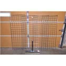 4 - Metal Standing Display Racks