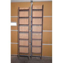 2 - Vinatge Ladders