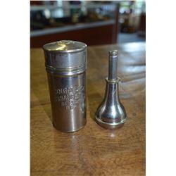 Colgate & Co. Vintage silver shaving stick set