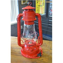 Vintage lantern - converted electric