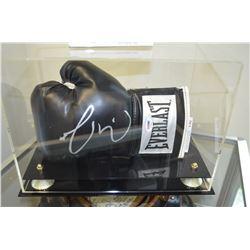 Roberto Guerrero Boxing Gloves - Autographed! - COA - SOLD!!!