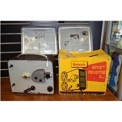 """Vintage """"Brownie"""" Movie Projector"""