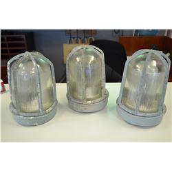 3 - Vintage Industrial Lights