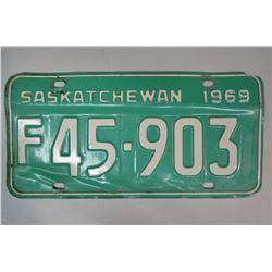 Vintage License Plates