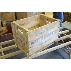 Vintage Beverage Box