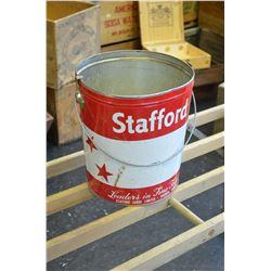 Large Stafford Tin