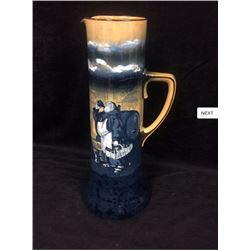 "Very Rare - (1905) Royal Daulton Beer Stein - ""Monks In The Cellar"""