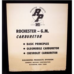24 - Original - Educational Automotive Charts (Circa 1950)