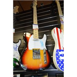 Authentic Vince Gill Signed Full-Size Electric Guitar - PSA-COA
