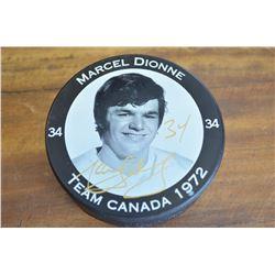 Marcel Dionne - Autographed Puck