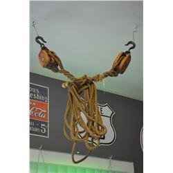 Vintage Rope & Pullies