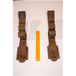 2 - Heavy Steel Brackets