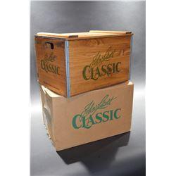 "Vintage ""John Labatt"" Wooden Box WITH shipping Original Box"