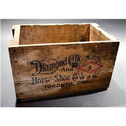Vintage Box Diamond Calk - Great Graphics!