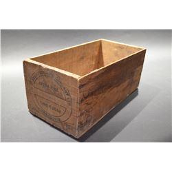 Vintage BC (Vancouver) Sugar Box