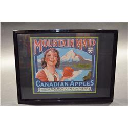 Framed - Vintage Labels