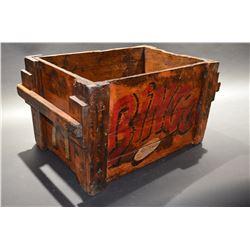 LARGE - Colourfull Decrotive Wood Box - VERY COOL!