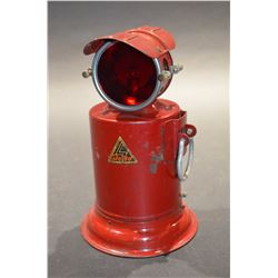 Vintage Red Lamp