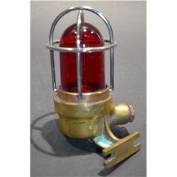 Brass Ship Light (Red)