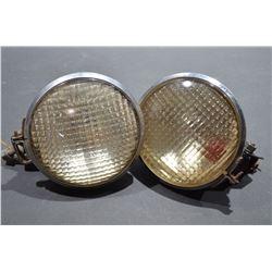Vintage Tractor Lights
