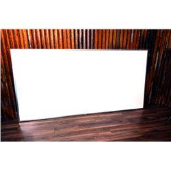 Large (4x8) Whiteboard & Folding Projector Screen