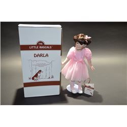 "The Little Rascals ""Darla"" Porcelain Doll - The Hamilton Collection"