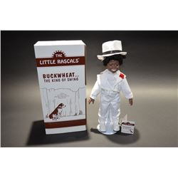 "The Little Rascals ""Buckwheat - King of Swing"" Porcelain Doll - The Hamilton Collection"